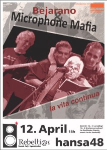 Esther Bejarano & Microphone Mafia live in Kiel am 12.04.2014