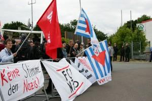 Aktionstag in Riesa - Deutsche Stimme zumachen
