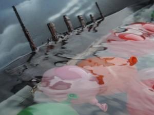 Kunstaktion Titanic versenken