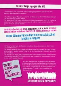 Aufstehen gegen Rassismus 3.9.16 Berlin (2)